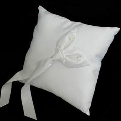 Deluxe Calla Lily Pillow - White