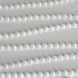 6mm Pearls-White 12 Yards String Beads