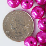 1000/pk BLOCKBUSTER Pearls - 10mm Fushia