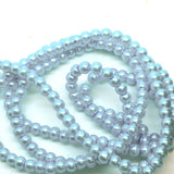 1000 Pack 10mm Serenity Blue Faux Pearl Beads Vase Fillers