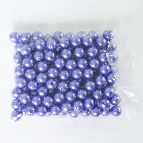 120/pk I LIKE EM BIG 20mm Pearls - Purple