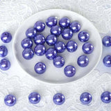 120 Pack 20mm Purple Faux Pearl Beads Vase Fillers