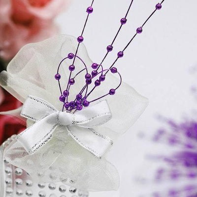 144 Pearl Sprays Party Craftss Favors - Purple
