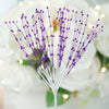 144 PCS Purple Pearl Sprays Party Crafts Favors