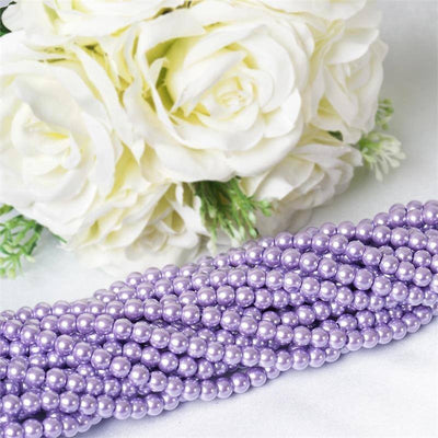 Endless Pearl Strand 8+ Yards Mother of Pearl - Lavender