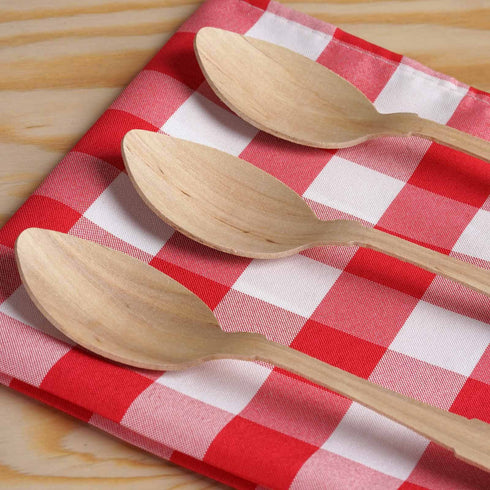 100 Pack - Dashing Birch Wood Spoon