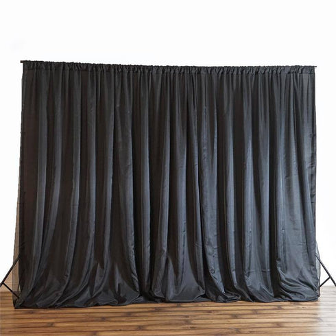 20ft x 10ft Chic-Inspired Backdrops - Black