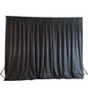 20ftx10ft Black Chic-Inspired Backdrop Curtain