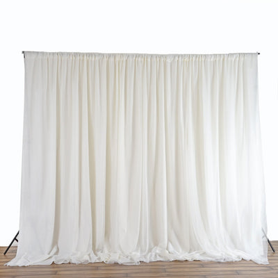 20ft x 10ft Chic-Inspired Backdrops - Ivory