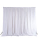 20ftx10ft White Chic-Inspired Backdrop Curtain