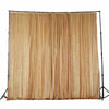 20Ft x 10Ft Gold Sequin Backdrop Curtain