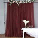 20FT x 10FT Burgundy Metallic Shiny Spandex Glittering Backdrop