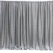 20ftx10ft Silver Metallic Shiny Spandex Glittering Backdrop
