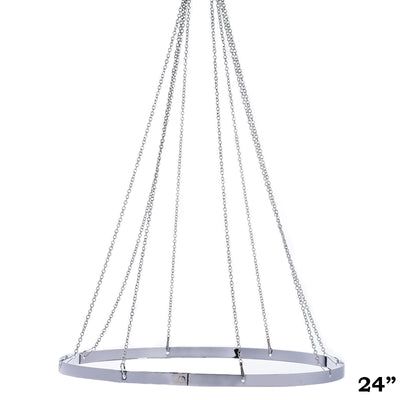 "8 Panel 24"" Hoop Ceiling Draping Hardware Kit With Free Tool Kit"