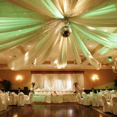 Steps to Make Tent Style Ceiling Drapes