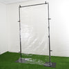 Portable Isolation Wall Kit, Floor Standing Sneeze Guard