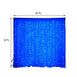 18FT x 9FT | 600 Sequential Blue LED Lights BIG Photography Organza Curtain Backdrop