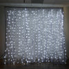 20FT x 10FT 600 Sequential Silver LED Lights BIG Photography Organza Curtain Backdrop#whtbkgd