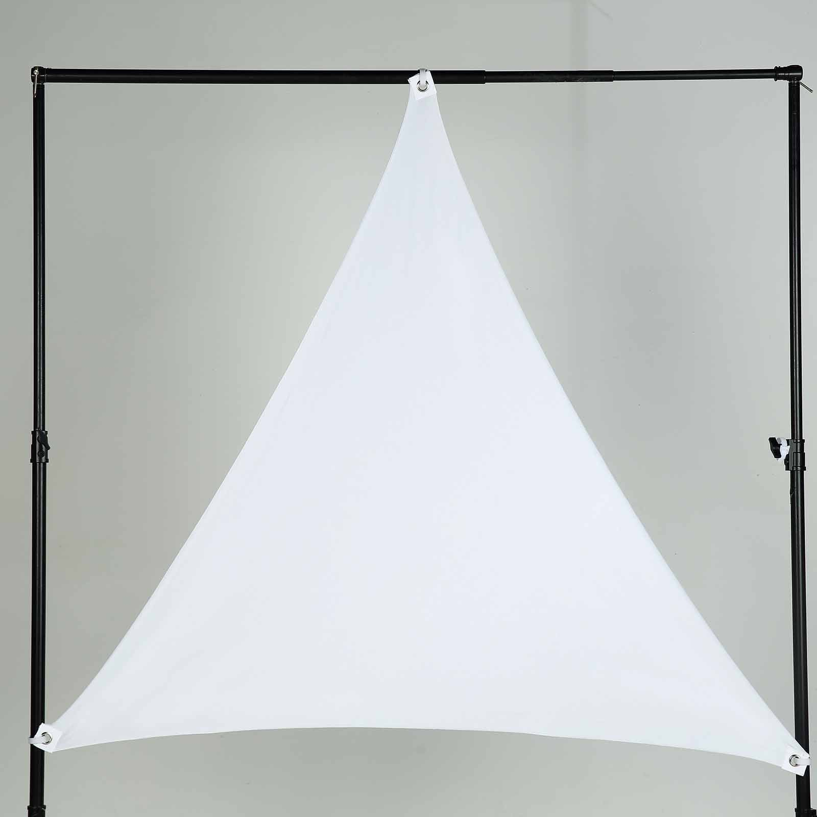 6 Ft 3 Point Spandex Ceiling Wall Patio Decoration Sunshade
