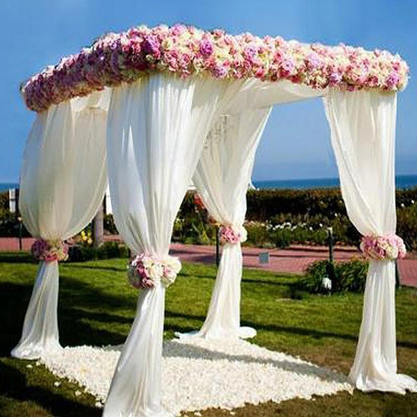 4 Post Height Adjustable Canopy Chuppah Mandap Wedding