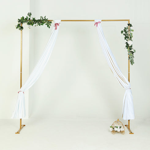 Gold Wedding Backdrop Stand Metal Arch