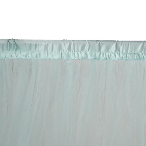 5FTx10FT | Sheer Curtain | Tulle Backdrop Curtains