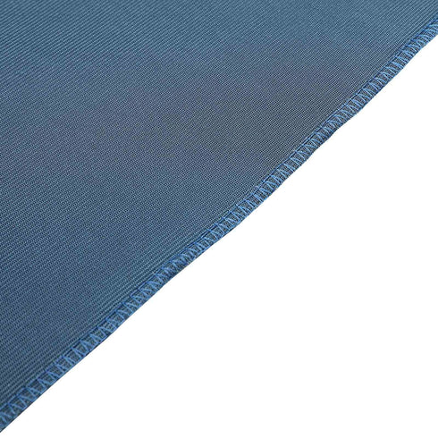 8Ft H x 8Ft W Navy Blue Premium Velvet Backdrop Curtain Panel Drape | eFavorMart