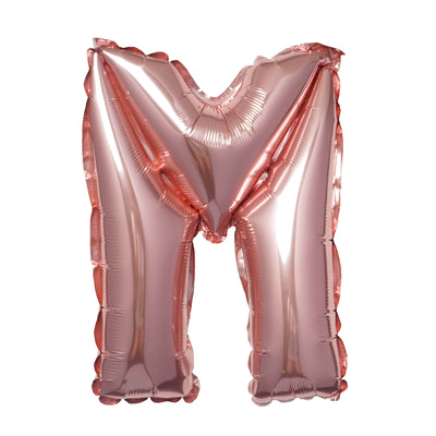 "16"" Blush Mylar Foil Letter Helium Balloons Birthday Party - M"