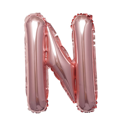 "16"" Blush Mylar Foil Letter Helium Balloons Birthday Party - N"