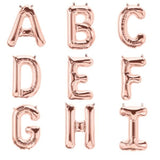 "16"" Blush Mylar Foil Letter Helium Balloons Birthday Party"