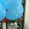 "25 Pack | 12"" Blue SENSATIONAL Polkadot Latex Balloons"
