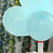 "25 Pack - 10"" Pastel Light Blue Round Latex Balloons - Matte Color Helium Balloons"