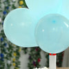 "25 Pack | 10"" Pastel Light Blue Round Latex Helium Balloons 