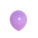 "25 Pack - 12"" Pastel Purple Round Latex Balloons - Matte Color Helium Balloons"