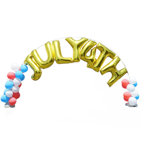 9ft Tall X 19ft Wide Adjustable Balloon Arch Stand Kit 400 Balloon