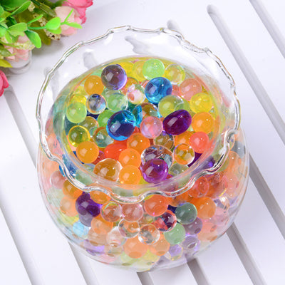 10 grams | Purple BIG Round Deco Water Beads Jelly Vase Filler Balls