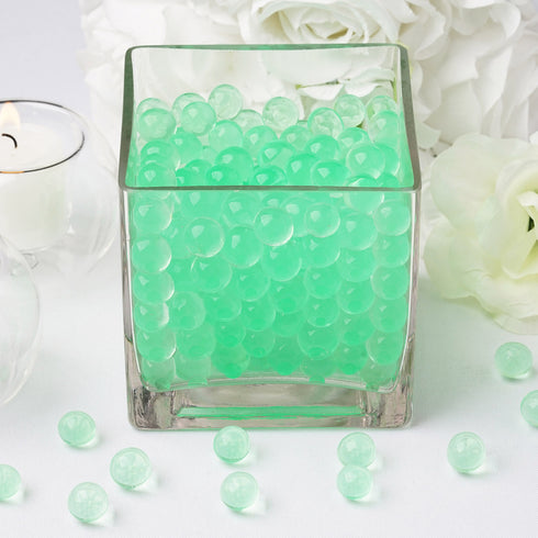 200 to 250 PCS | Apple Green Small Round Deco Water Beads Jelly Vase Filler Balls