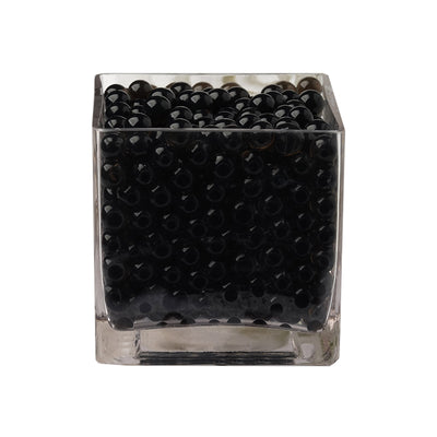 200 to 250 PCS | Black Small Round Deco Water Beads Jelly Vase Filler Balls