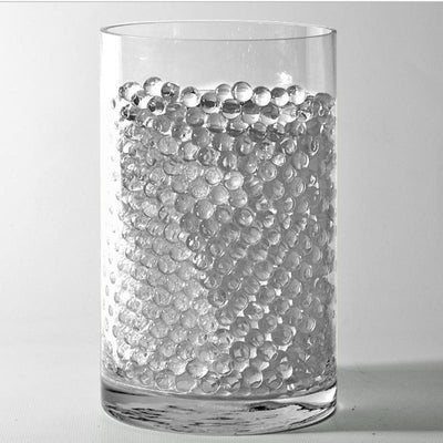 Clear Small Round Deco Water Beads Jelly Vase Filler Balls - 200 to 250 PCS