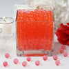 200 to 250 PCS | Red Small Round Deco Water Beads Jelly Vase Filler Balls