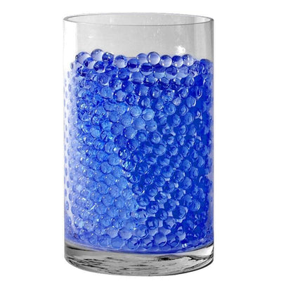 Small Round Deco Water Beads Jelly Vase Filler Balls - 200 to 250pcs - Royal Blue