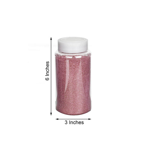 1 Pound Rose Gold DIY Art & Craft Glitter Extra Fine With Shaker Bottle