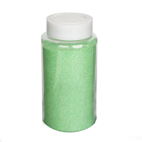 1 Pound Apple Green DIY Art & Craft Glitter Extra Fine With Shaker Bottle