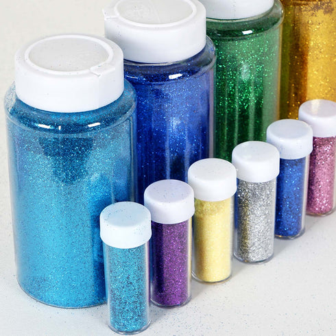 1 lb Bottled Lavender Fine Grain Iridescent Craft Glitter[overaly]1lb Bottle & 23gm Bottle