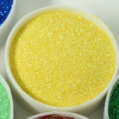 1 Pound Yellow DIY Art & Craft Glitter Extra Fine With Shaker Bottle