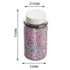 1 Pound Multi-Color DIY Art & Craft Confetti Glitters - Chunky Glitter with Shaker Bottle