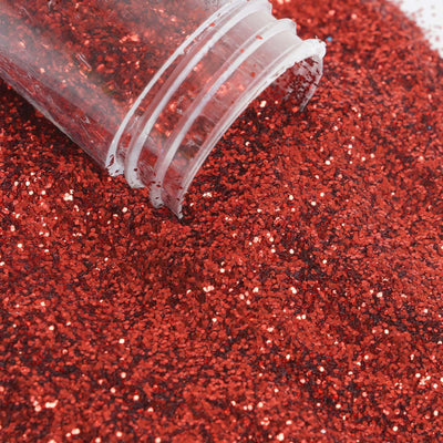 Extra Fine Glitter Wholesale - Red