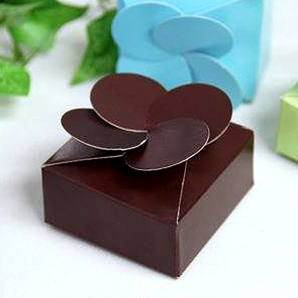 48pcs Heart Shape Mint Tin Boxes Bride and Groom Wedding Favor Metal Boxes NEW