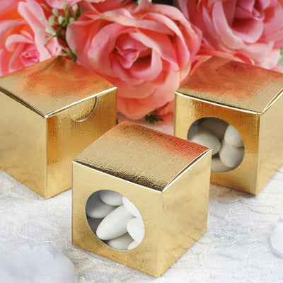2x2 Gold Ballotin Box-100 Boxes