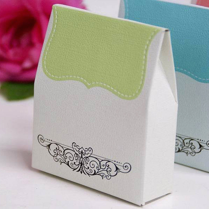 100 Tapestry Favor Box-Sage Green